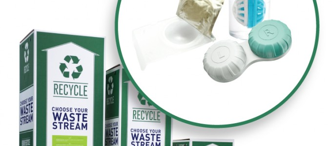 Recycle Contact Lens Waste at Kerk Davies Opticians