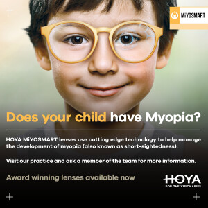 Does your child have myopia?